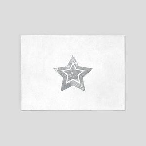 Cowboy star 5'x7'Area Rug