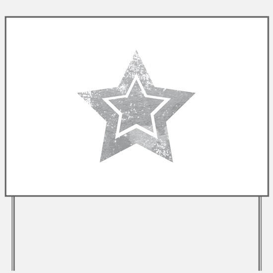 Cowboy star Yard Sign