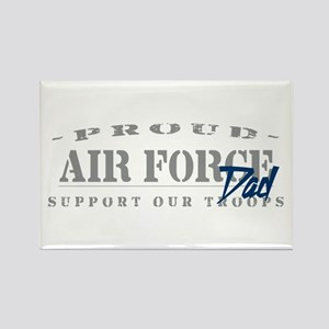 Proud Air Force Dad (Blue) Rectangle Magnet