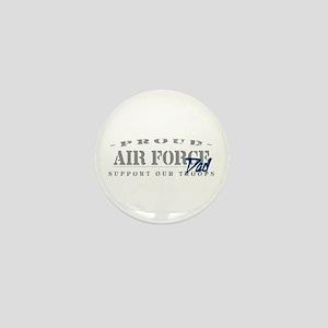 Proud Air Force Dad (Blue) Mini Button