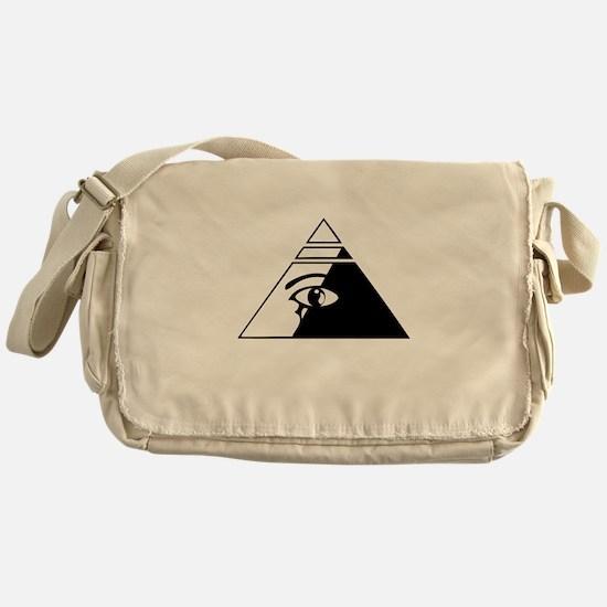 Eye of the pyramid Messenger Bag
