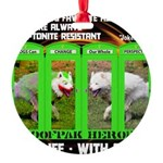 Joker Jag Live Life With A Dog Ornament