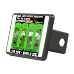 Joker Jag Live Life With A Dog Hitch Cover