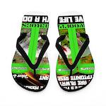 Joker Jag Live Life With A Dog Flip Flops