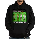 Joker Jag Live Life With A Dog Hoodie