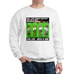 Joker Jag Live Life With A Dog Sweatshirt