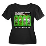 Joker Jag Live Life With A Dog Plus Size T-Shirt