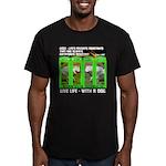 Joker Jag Live Life With A Dog T-Shirt