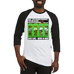 Joker Jag Live Life With A Dog Baseball Jersey