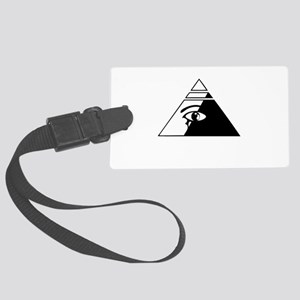 Eye of the pyramid Large Luggage Tag