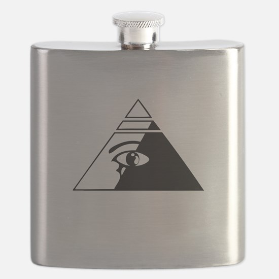 Eye of the pyramid Flask