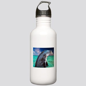 Dolphin Profile Stainless Water Bottle 1.0L