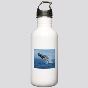 Humpback Whale Leap Stainless Water Bottle 1.0L