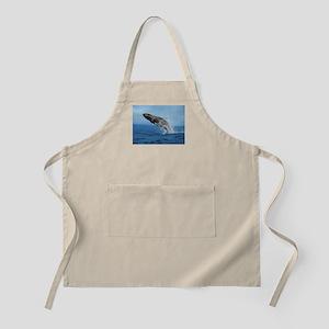 Humpback Whale Leap Apron