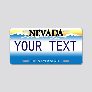 Nevada Customized Aluminum License Plate