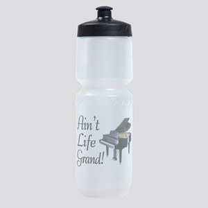 Ain't Life Grand Piano Sports Bottle