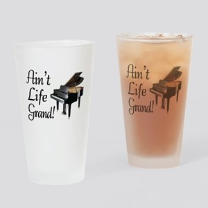 Ain't Life Grand Piano Drinking Glass