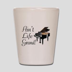 Ain't Life Grand Piano Shot Glass