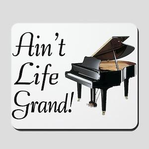 Ain't Life Grand Piano Mousepad