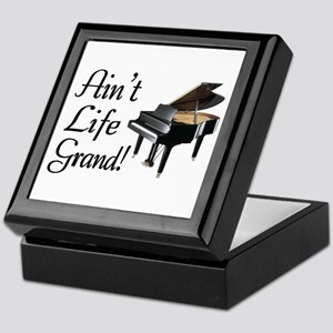 Ain't Life Grand Piano Keepsake Box