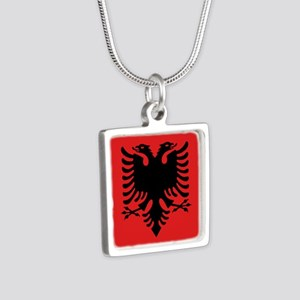 Flag of Albania Necklaces