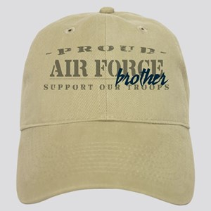 Proud Air Force Brother (Blue) Cap