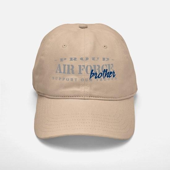 Proud Air Force Brother (Blue) Baseball Baseball Cap