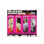 Pretty Princess Live Life With A Dog Postcards (Pa