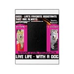 Pretty Princess Live Life With A Dog Picture Frame