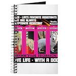 Pretty Princess Live Life With A Dog Journal