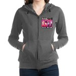 Pretty Princess Live Life With A Dog Women's Zip H