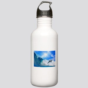 Dolphin Surf Stainless Water Bottle 1.0L