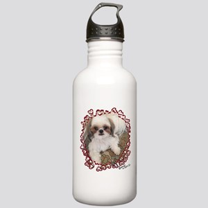 BonnyShihTzu_Hearts Water Bottle