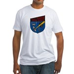 USS FORCE Fitted T-Shirt