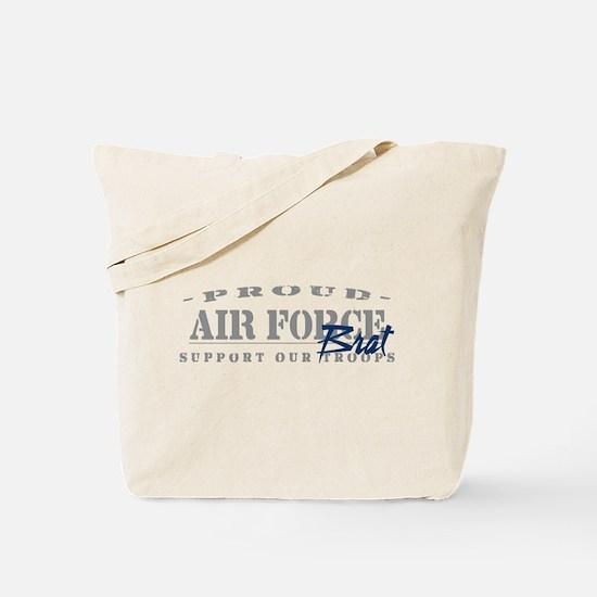 Proud Air Force Brat (Blue) Tote Bag