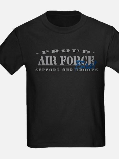Proud Air Force Brat (Blue) T