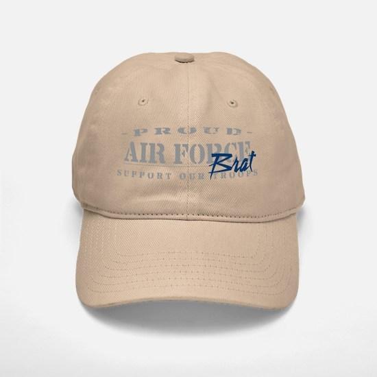Proud Air Force Brat (Blue) Baseball Baseball Cap