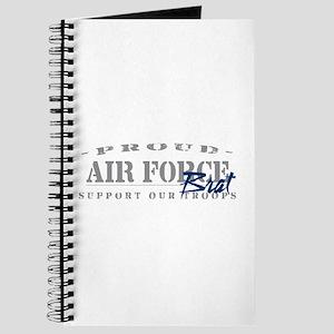 Proud Air Force Brat (Blue) Journal