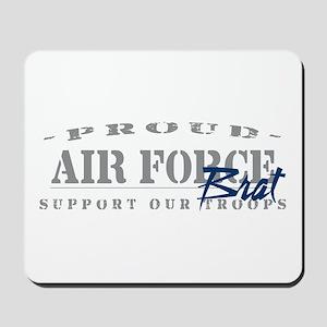 Proud Air Force Brat (Blue) Mousepad