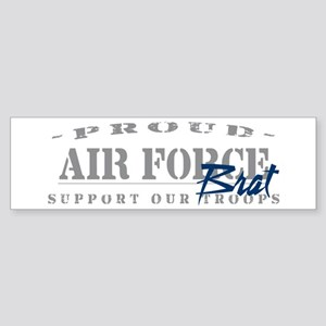Proud Air Force Brat (Blue) Bumper Sticker