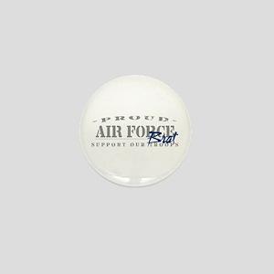 Proud Air Force Brat (Blue) Mini Button