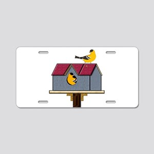 Home Tweet Home Aluminum License Plate