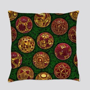 Christmas Balls - Red Master Pillow