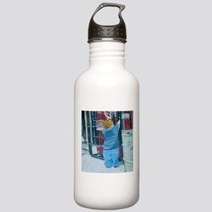 Reaching Water Bottle