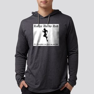 Roller Derby Dad Long Sleeve T-Shirt