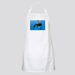 Orca Whale and Calf Apron