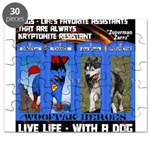 Zuperman Zarro - Live Life With A Dog Puzzle