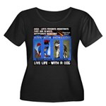 Zuperman Zarro - Live Life With A Dog Plus Size T-