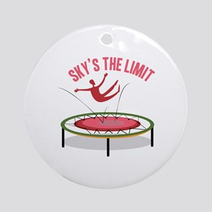 Sky Is The Limit Ornament (Round)