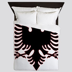 Albanian Eagle Queen Duvet